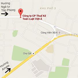 Bản đồ Luật Việt Á